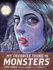 My Favorite Thing Is Monsters by Emil Ferris (2017, Paperback)