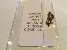 OMEGA CAL 865  BALANCE BRIDGE COMPLETE CHRONOSTOP