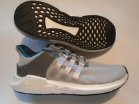 New Adidas Originals EQT Support 93/17 Boost Men's Shoes  Grey White  CQ2395