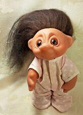 "Vintage All Original 1970s Thomas DAM 9"" TROLL Doll Denmark Collectible"