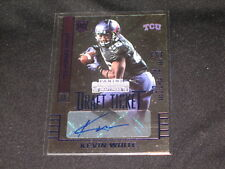 KEVIN WHITE NFL ROOKIE CERTIFIED AUTHENTIC AUTOGRAPHED SIGNED FOOTBALL CARD