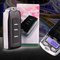 200g/0,01g Mini Digital-Taschen-Waage Goldwaage Juwelierwaage Feinwaage 7x4 U7I9