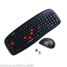 Quantum QHM9440 Multimedia 2.4G Wireless USB Keyboard Mouse Combo Bill