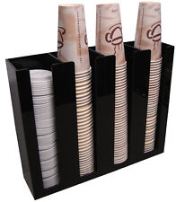 Coffee Cup lid Holder Dispenser office Organizer caddy coffee counter display 4S