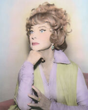 "AGNES MOOREHEAD ENDORA BEWITCHED HOLLYWOOD ACTRESS 8x10"" HAND COLOR TINTED PHOTO"