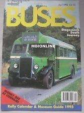 Buses magazine April 1995 Ian Allan Vol.47  No.481
