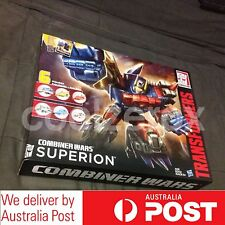 Transformers Generation Combiner Wars G2 SUPERION Gift Set - New - Aus Seller