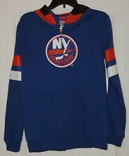 Reebok Face Off NHL Youth New York Islanders Full-zip Goalie Hoodie Large NWT