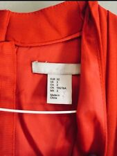 H&M Red Dress Size 2