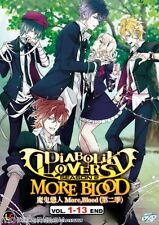 DVD Diabolik Lovers More, Blood Season 2 (1-11 End) Original Anime + Free1Anime