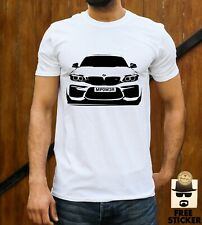BMW Car CUSTOM Plate T-shirt Personalised Customised Mpower Dad Fathers Gift Top