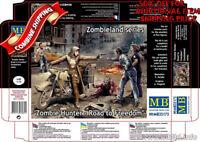 "Master Box 35175 Zombie Hunter - Road to Freedom ""Zombieland""  plastic kit 1/35"
