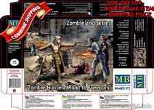 "Master Box 35175 Zombie Hunter - Road to Freedom ""Zombieland""  plastic kit 1/35"