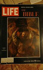 LIFE MAGAZINE 60s Double issue THE BIBLE  free USA SHIPPING VINTAGE