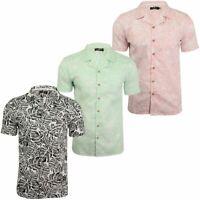 Soul Star Men's Hawaiian Shirt 'Van' Short Sleeved