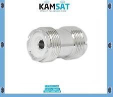 Cb Radio Ham Female Socket to Socket Adaptor Connector 5 x PL259 SO239 UHF