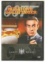 MISSIONE GOLDFINGER James Bond DVD Film ITA PAL