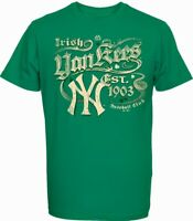 St.Patricks Day Irish New York Yankees T-Shirt,MLB Baseball Neu,Gr.XXL