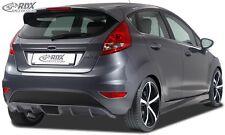 Rear Bumper extension, Lip spoiler,Extension, Rear Bumper Extension Fiesta MK7 J