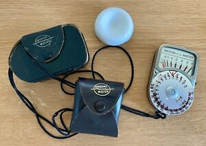 Weston Euromaster with leather case and Invercone/case & Lanyard