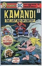 Kamandi the Last Boy on Earth 1972 series # 37 very fine comic book
