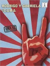 Rodrigo Y Gabriela/C.U.B.A: Area 52. Sheet Music for Guitar/Guitar Tab, New,  Bo