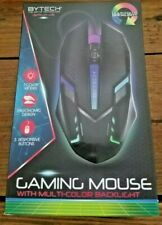 BYTECH Gaming Mouse with Multi-color Backlight Ergonomic Wired Universal Gamer
