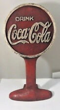 Coca-Cola Door Stop Sign Safety First