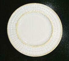 Beautiful Belleek Green Mark Limpet Cob Yellow Lunch Plate