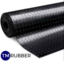 QUARANTINE RUBBER STUD COIN PENNY FLOORING MAT W1200MM X D3MM SOLD P/M FREE POST