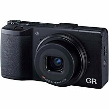 Ricoh GR II 16.2MP  Digital Compact Camera in Black BNIB UK Stock