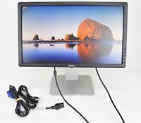 """Dell P2012Ht 20"""" LCD Monitor with Cables VGA Grade A"""
