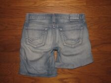 "BIG STAR Roll Up Jean Shorts Sz 26 W 28 x L 7"" (or 5"" Rolled Up & Buttoned)"