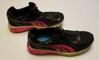Puma WEB CAGE Pink Black Running Shoes Eco Ortholite Womens Size 9