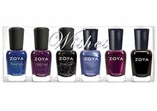 ZOYA WISHES 6-pc Nail Polish Set # 766-771 Tori Thea Imogen Prim Haven Willa NIB