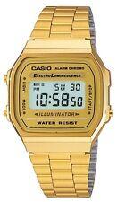 Casio Watch * A168WG-9 Vintage Illuminator Gold Steel Ivanandsophia COD PayPal