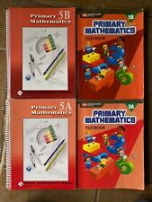 Bundle - Primary Mathematics Textbooks and Home Instructor's Guides 5A and 5B