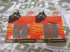 SBS Street Excel Sinter HH Front Brake Pads for Kawasaki Z1000 2010-2017 NEW
