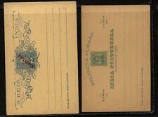Portugal  India  2  unused postal  cards          MS0502