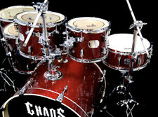 CHAOS FORCE 6 PIECE DRUM KIT SET - AUSTRALIAN BRAND - PEARL TAMA DW MAPEX PDP