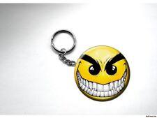 VAMPIRE SMILEY FACE EVIL SMILE Key Chain