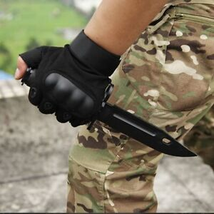 Outdoor Tactical Military Cosplay Camping Training Rubber Knife Free shipping