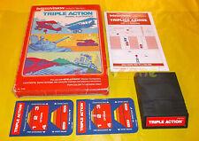 TRIPLE ACTION Intellivision Versione Italiana ○○○○○ COMPLETO
