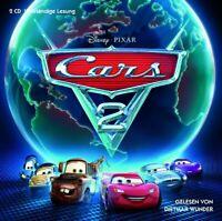 CARS 2 - ORIGINAL-HÖRBUCH ZUM FILM (DIETMANR WUNDER) 2 CD NEW