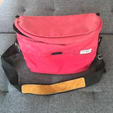 LL Bean Camera Bag Rare Vintage 70s 80s 90s Padded Large Waist Shoulder Bag bbx3