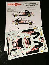 DECALS 1/24 SUBARU IMPREZA WRX LIETAR RALLYE BOUCLE DE SPA 1995 WRC RALLY TAMIYA