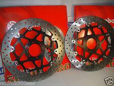2 DISCHI FRENO BREMBO FLOTTAN ANT 78B70 MOTO GUZZI BREVA 1100 ABS 2005 2006 2007