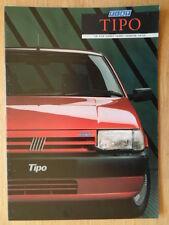 FIAT TIPO orig 1988 1989 UK Mkt sales brochure