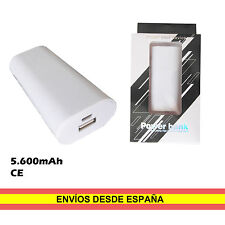 Power bank 5600mAh Bateria auxiliar movil Universal USB Smartphone MP3 Camara
