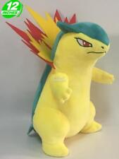 "12"" Wow Pokemon Typhlosion Plush Anime Stuffed Animal Doll Toy Game PNPL4381"